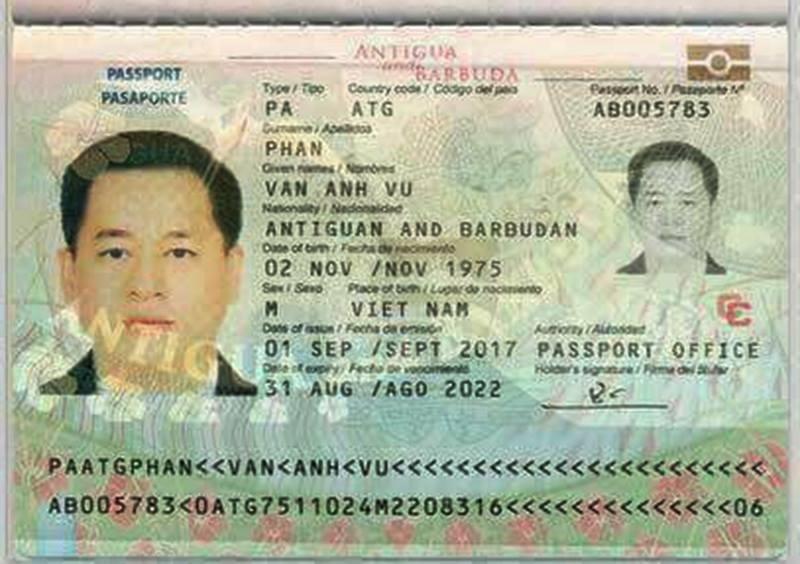 Image result for hộ chiếu vũ nhôm