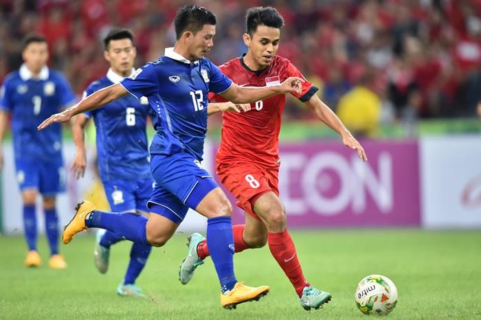 Thắng Singapore 1-0, Thái Lan đoạt vé bán kết đầu tiên - ảnh 2