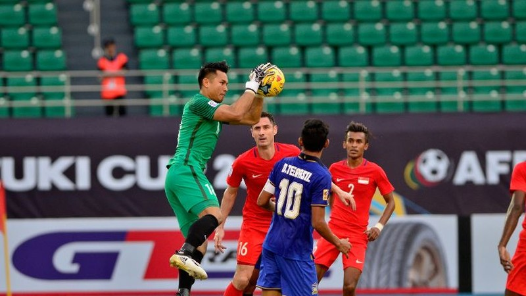 Thắng Singapore 1-0, Thái Lan đoạt vé bán kết đầu tiên - ảnh 1