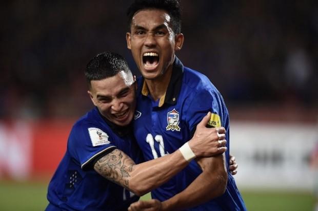 Thắng Singapore 1-0, Thái Lan đoạt vé bán kết đầu tiên - ảnh 3