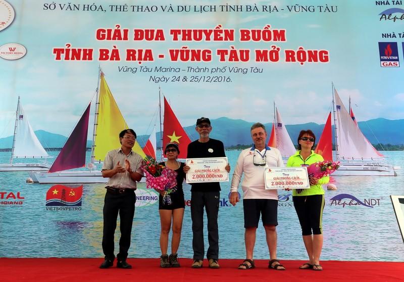 Vũng Tàu Marina 1 vô địch giải đua thuyền buồm  - ảnh 2