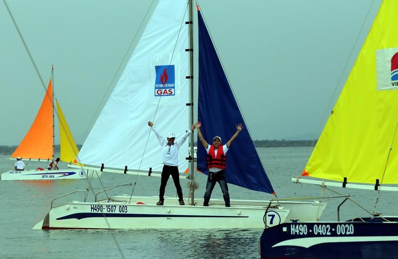 Vũng Tàu Marina 1 vô địch giải đua thuyền buồm  - ảnh 1