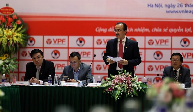 VPF sẽ thu hơn 190 tỉ đồng ở mùa giải 2017 - ảnh 1