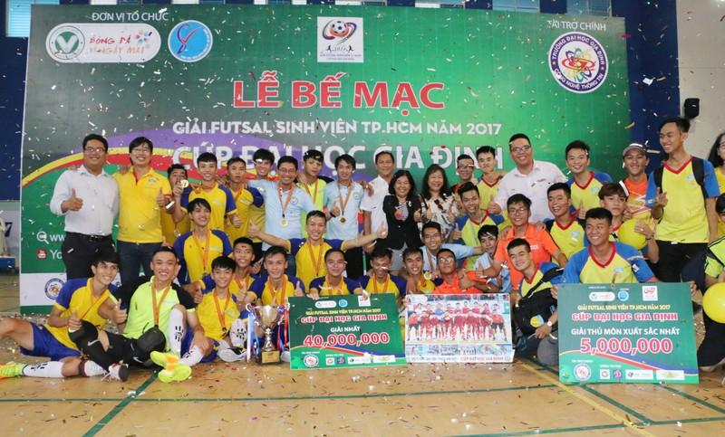 Đại học HUTECH vô địch giải Futsal sinh viên TP.HCM - ảnh 6