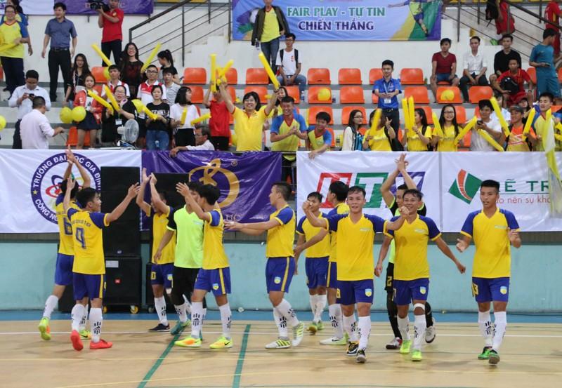 Đại học HUTECH vô địch giải Futsal sinh viên TP.HCM - ảnh 5