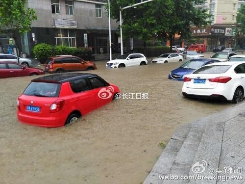 Lũ lụt lớn ở Vũ Hán