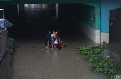 lũ lụt ở Vũ Hán