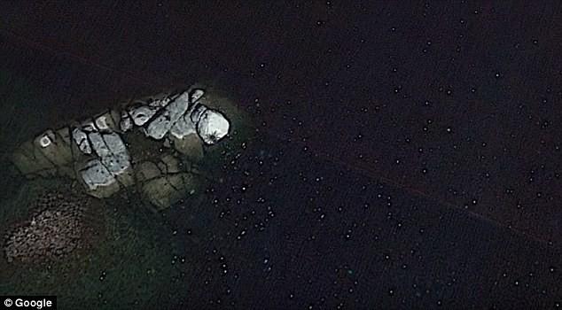 Ảnh vệ tinh phát hiện nhện chín chân to bằng xe buýt? - ảnh 3