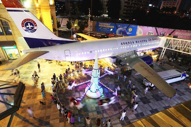 nhà hàng máy bay đầu tiên ở Trung Quốc