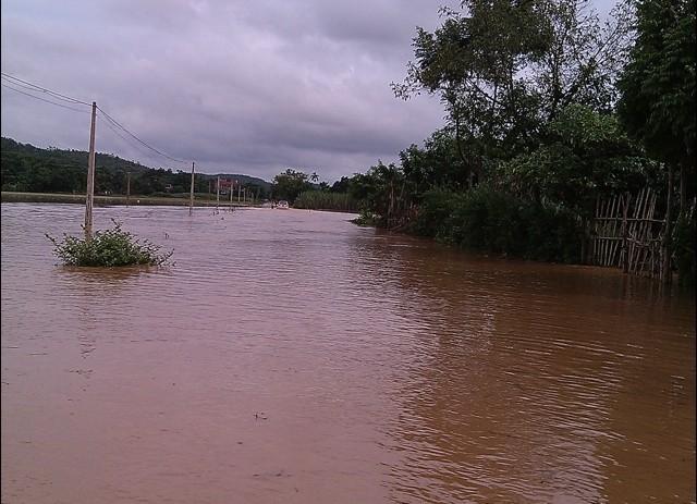 Bốn người chết, gần 2.000 ngôi nhà ngập sâu do mưa lũ - ảnh 1