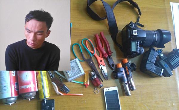 Bắt khẩn cấp kẻ trộm cắp, làm bị thương nhiều cảnh sát - ảnh 1