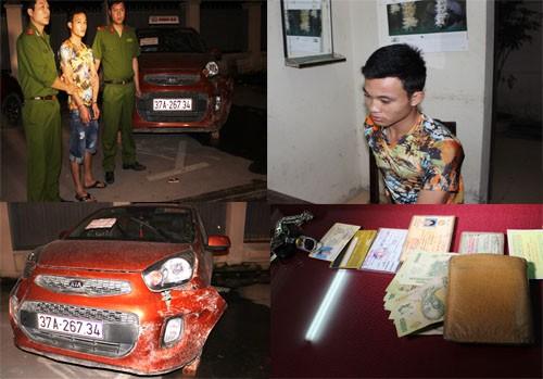 Nghi can giết tài xế taxi ở Thanh Hóa sa lưới tại TP.HCM - ảnh 1