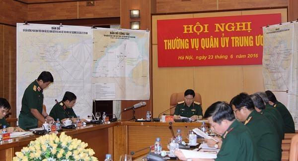 Thường vụ Quân ủy Trung ương họp