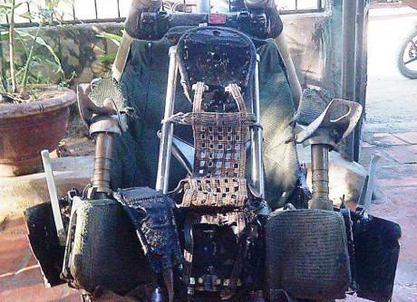 Chiếc ghế Su -30MK2 được phi công Trần Quang Khải