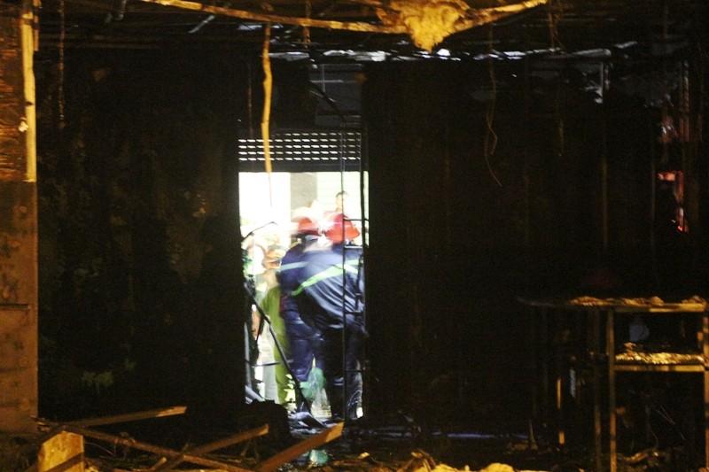 13 nạn nhân tử vong trong vụ cháy quán karaoke ở Hà Nội - ảnh 5