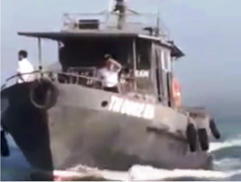 Làm rõ vụ va chạm giữa tàu kiểm ngư và tàu của ngư dân - ảnh 1