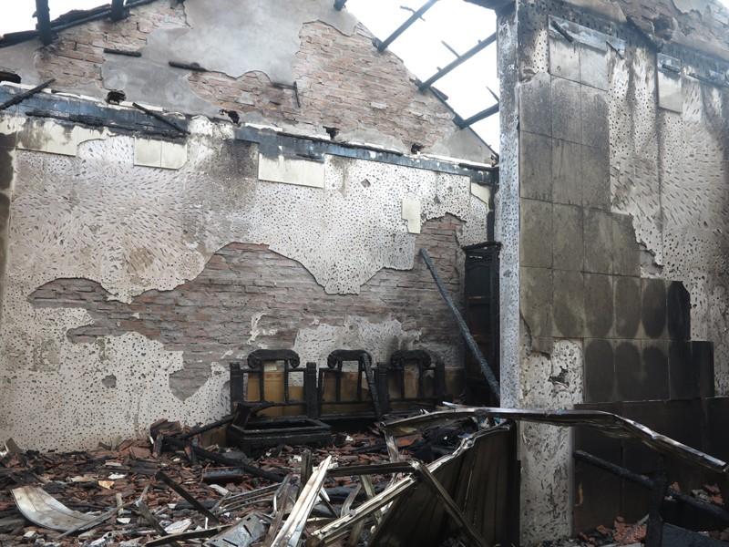 Cụ ông 92 tuổi tử vong trong vụ cháy nhà lúc nửa đêm - ảnh 1