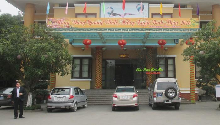 Nghệ An: Tổ chức giao lưu, chúc mừng bí thư huyện về làm phó giám đốc sở  - ảnh 2