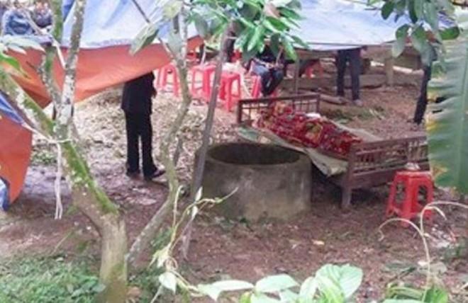 Điều tra nghi án thanh niên chết bất thường dưới đáy giếng - ảnh 1