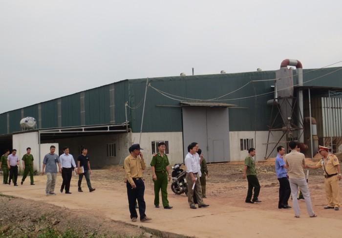 Điều tra vụ tại khu công nghiệp Nam Cấn khiến 11 công nhân bị thương - ảnh 1