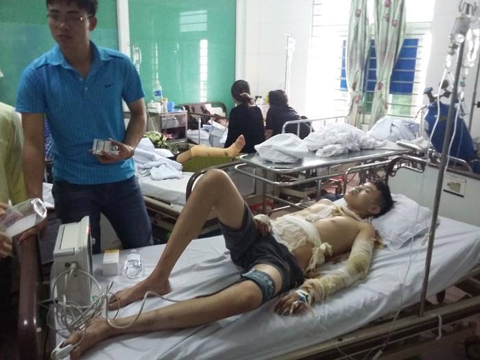 Điều tra vụ tại khu công nghiệp Nam Cấn khiến 11 công nhân bị thương - ảnh 4