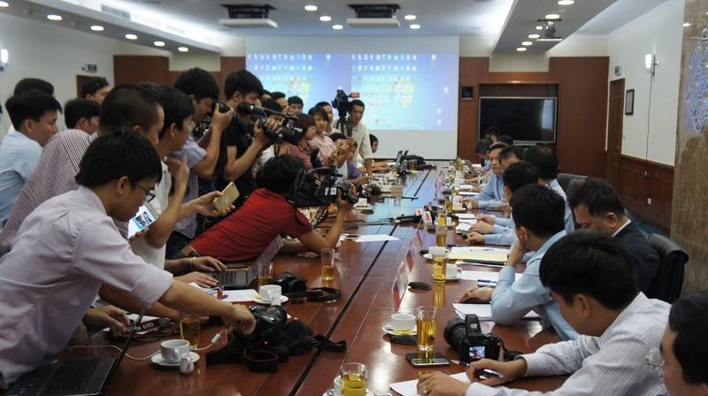 Họp báo của Formosa: Lãnh đạo công ty từ chối nhiều câu hỏi - ảnh 4
