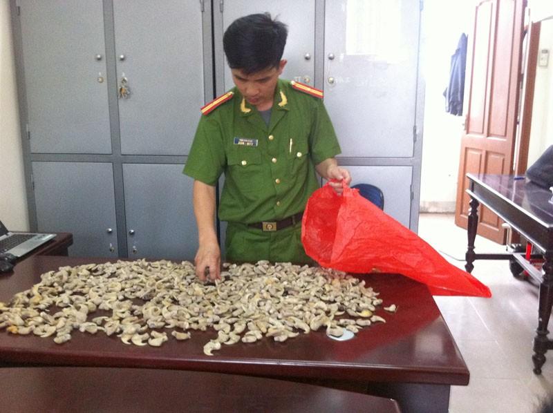 Thu giữ 680 cái móng vuốt nghi của hổ - ảnh 2