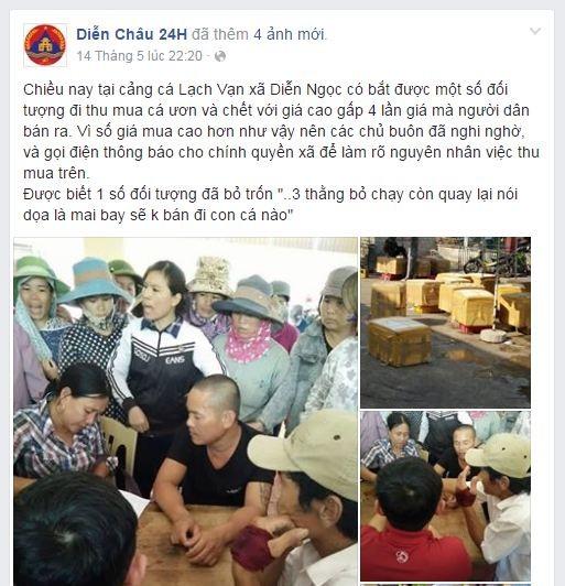Hàng trăm người vây xe cá vì nghi 'mua cá giá cao để đổ xuống biển' - ảnh 1