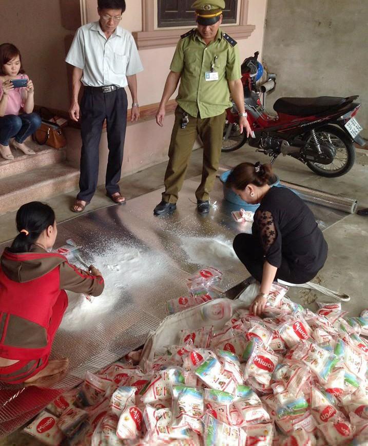 Bán bột ngọt giả thương hiệu Miwon cho bà con miền núi - ảnh 1