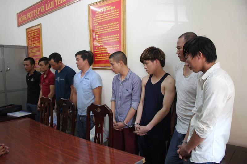 9 kẻ gây án ở Nghệ An trốn vào miền Nam vẫn không thoát - ảnh 1