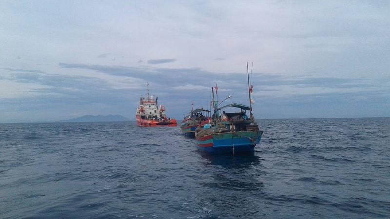 Khoanh vùng tìm kiếm Su-30 trên biển Nghệ An - ảnh 1