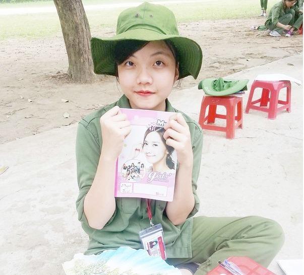 Nữ sinh Phan Thị Hải
