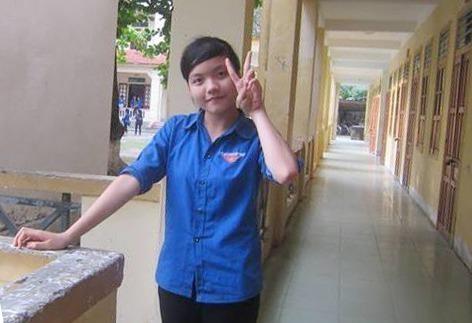 Em Phan Thị Hải  tích cực tham gia hoạt đồng tình nguyện, công tác xã hội từ khi còn học THPT