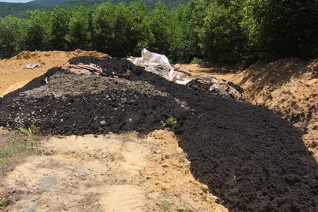Chất thải từ Formosa được chôn lấp ở trang trại của giám đốc công ty môi trường  - ảnh 1