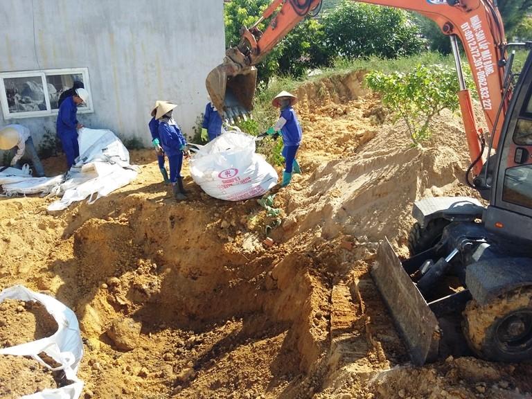 Chưa khởi tố vụ án chôn chất thải từ Formosa  - ảnh 1