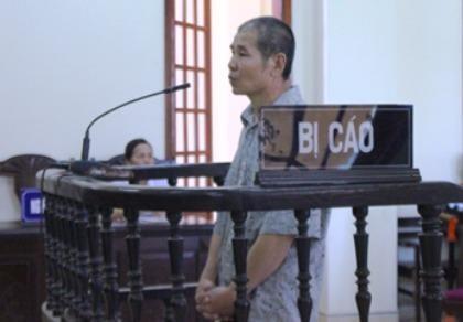 Bị cáo Lương Trần Chu.