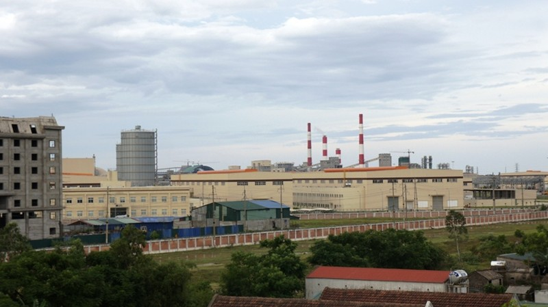 Một góc Dự án Formosa Hà Tĩnh