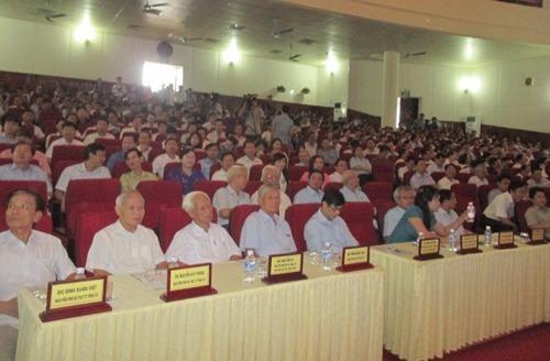 Rất đông đại biểu tham dự Hội nghị.