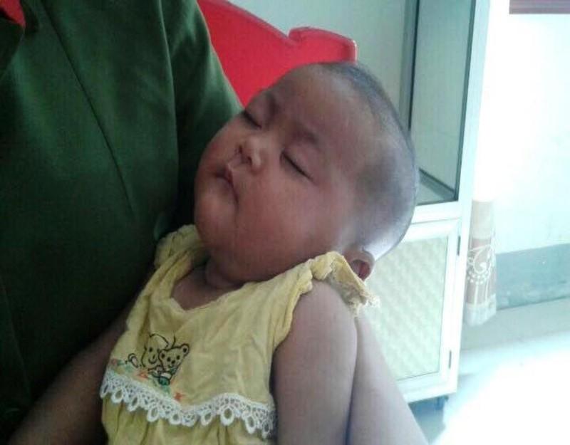 em bé bị bắt cóc