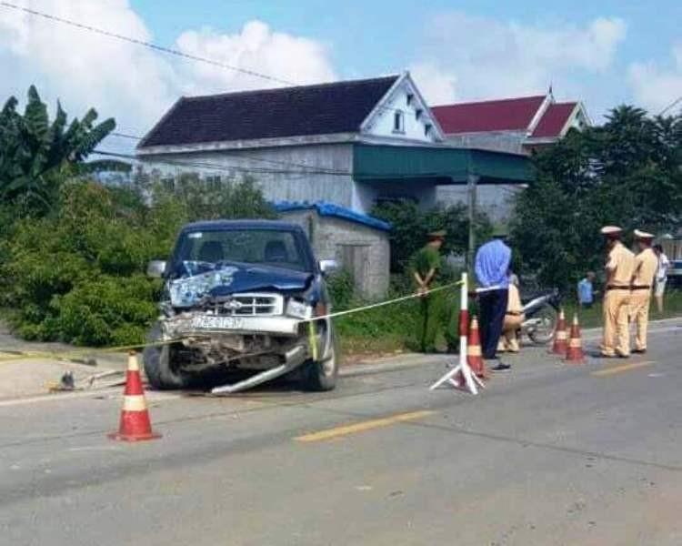 Chưa khởi tố vụ chủ tịch xã gây tai nạn 2 người chết - ảnh 1