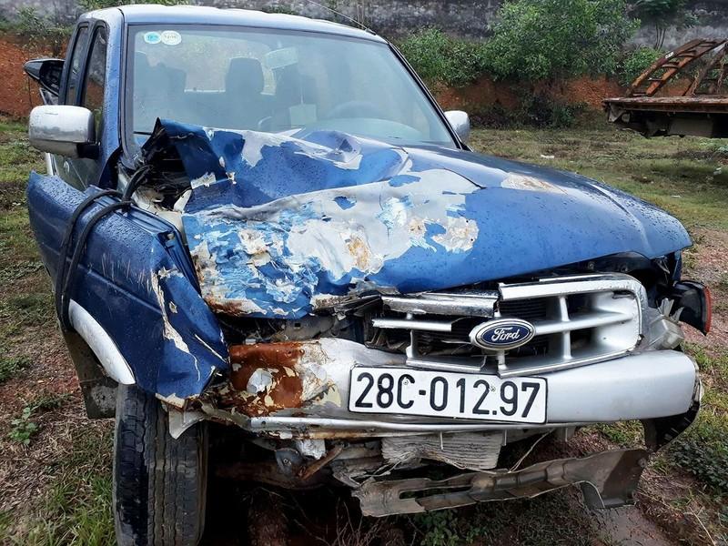 Khởi tố chủ tịch xã gây tai nạn, 2 học sinh tử vong  - ảnh 1