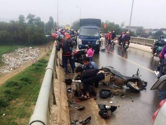 4 người trong 1 gia đình bị tai nạn, 3 người đã tử vong - ảnh 1