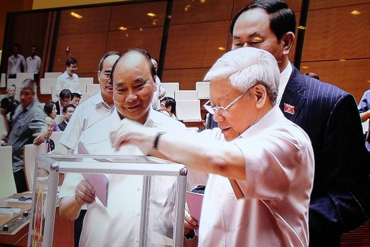 Ông Nguyễn Hạnh Phúc làm Tổng Thư ký Quốc hội khóa XIV - ảnh 1