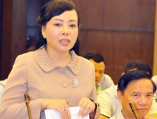 Bà Nguyễn Thị Kim Tiến tiếp tục được giới thiệu làm bộ trưởng Bộ Y tế - ảnh 1