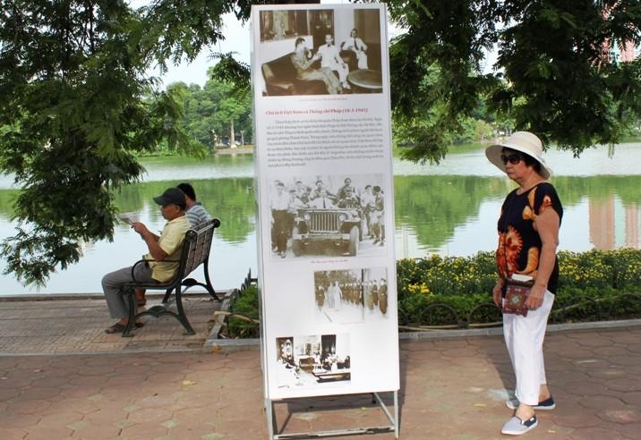 Phố đi bộ quanh Hồ Gươm trước giờ G  - ảnh 4