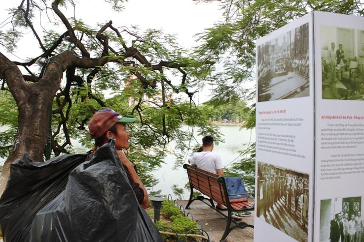 Phố đi bộ quanh Hồ Gươm trước giờ G  - ảnh 5