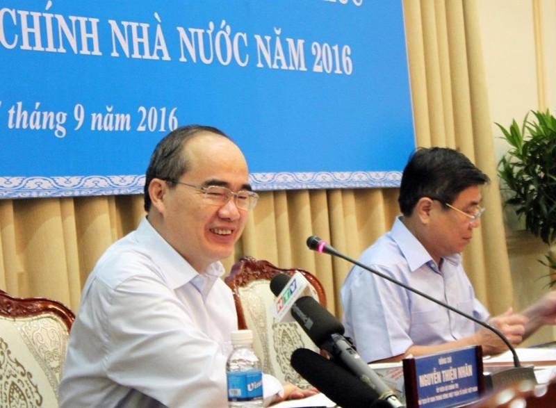 """Ông Nguyễn Thiện Nhân: """"Dân hài lòng thì đất nước mới phát triển"""". Ảnh: CHÂN LUẬN"""