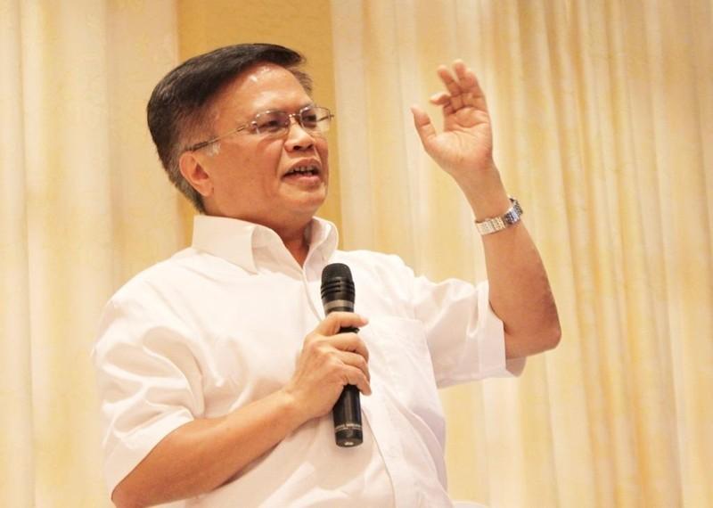 """S Nguyễn Đình Cung: """"Nếu không khơi thông nguồn lực, chúng ta sẽ xuống hố chứ không thể vươn lên"""". Ảnh: CHÂN LUẬN"""