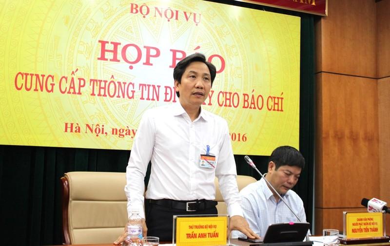 'Mong báo chí phối hợp chặt chẽ với Bộ Nội vụ' - ảnh 1