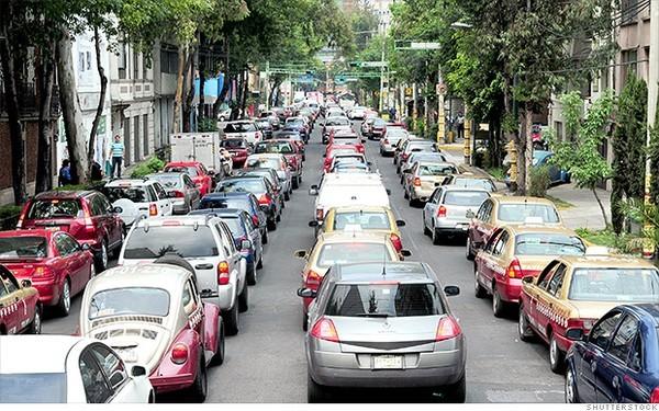 10 thành phố bị tắc đường kinh khủng nhất vào giờ cao điểm - ảnh 4